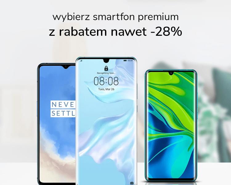 Tydzień smartfonów premium – ceny niższe nawet o 28%. Oto top 3 naszych propozycji