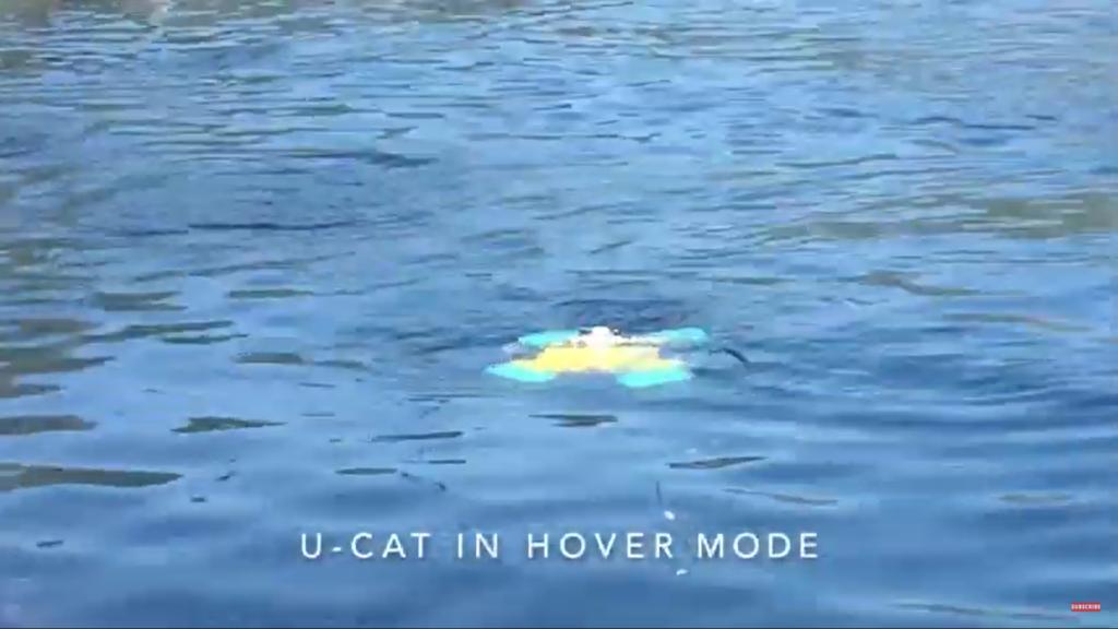 U-CAT robot żółw
