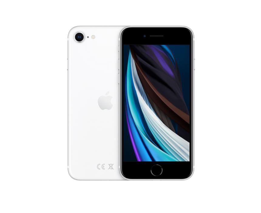 biały iphone se
