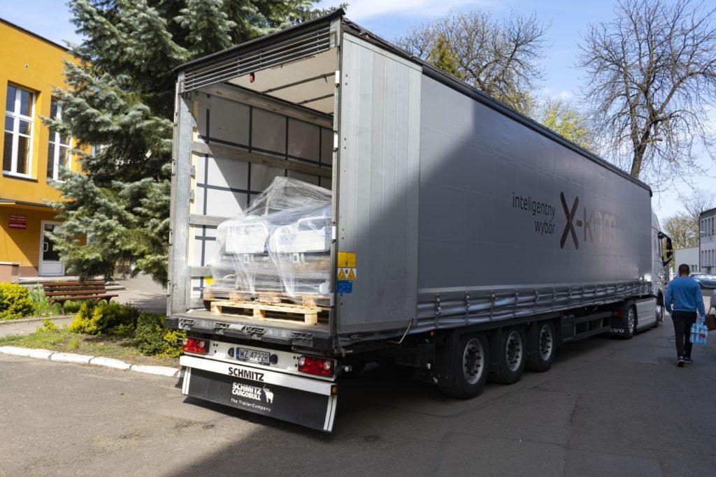 Pomoc x-komu dla częstochowskiego szpitala