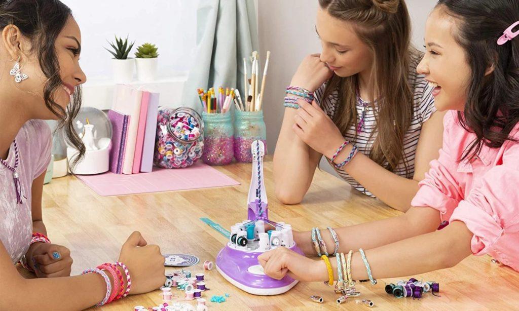 zestaw kreatywny dla dziewczynek