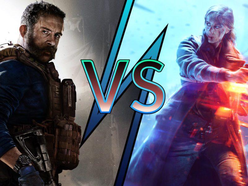 Call of Duty Modern Warfare 2019 vs Battlefielfd V – kto wygrał w 2020 roku?