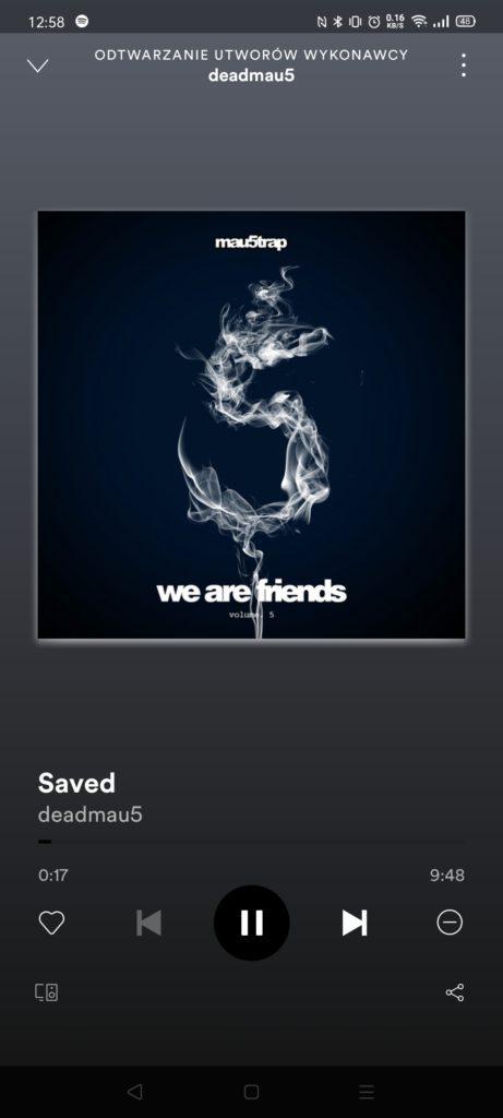 Deadmau5 - Saved spotify