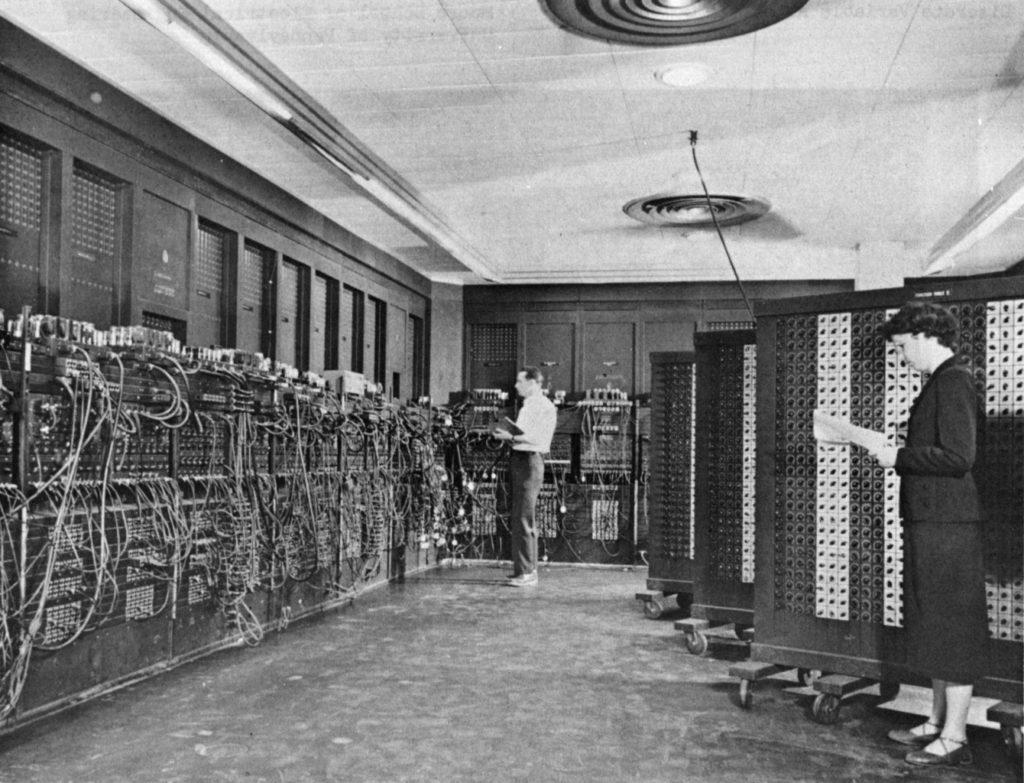Pierwszy komputer ENIAC