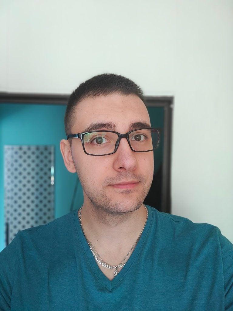 Realme X2 Pro selfie portret