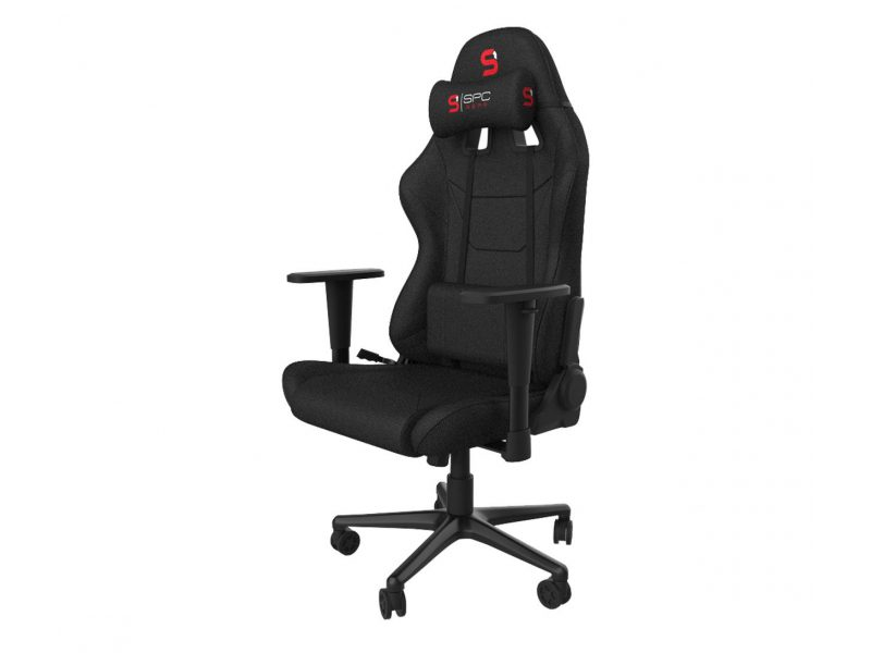 fotel dla gracza tkanina