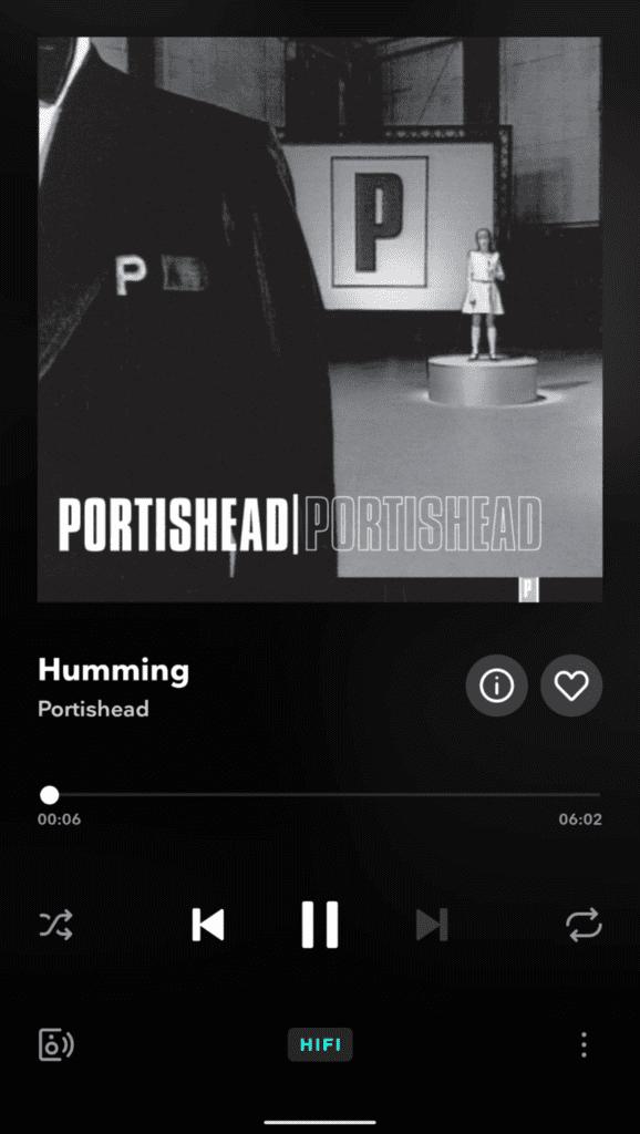 portishead - okładka z tidala