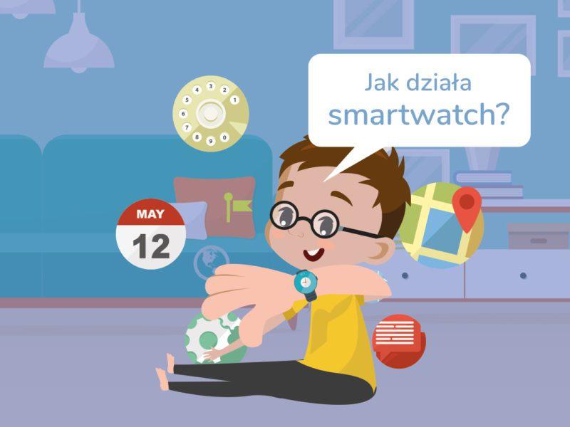 Jak działa smartwatch? Bajtek tłumaczy i wyjaśnia