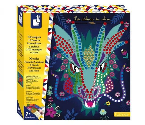 janod mozaika fantastyczne zwierzęta