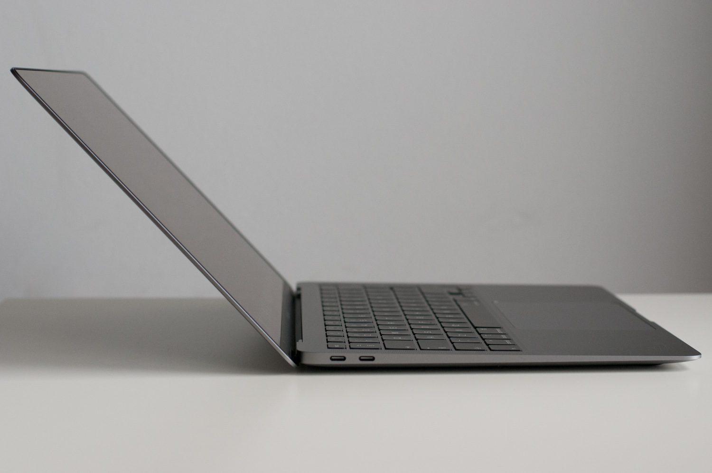 maksymalne odchylenie matrycy macbook air