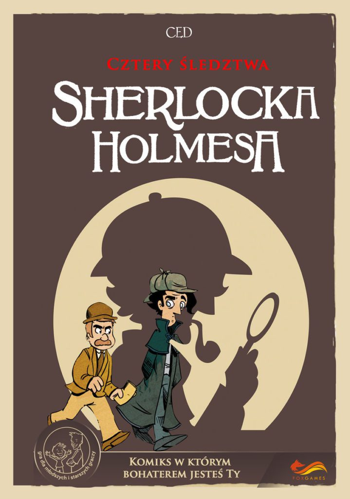 komiksy dla dzieci cztery śledztwa sherlocka holmesa