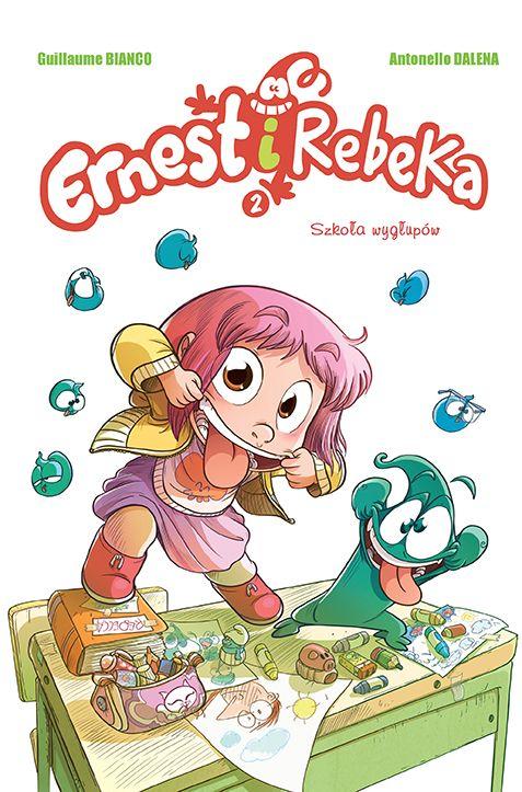 komiksy dla dzieci ernest i rebeka