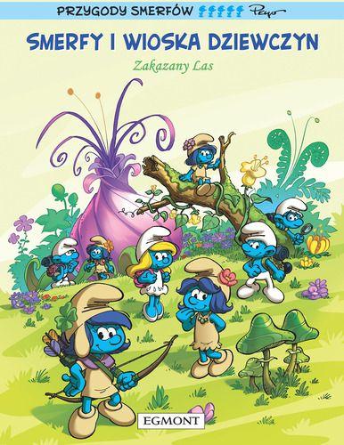 komiksy dla dzieci smerfy i wioska dziewczyn