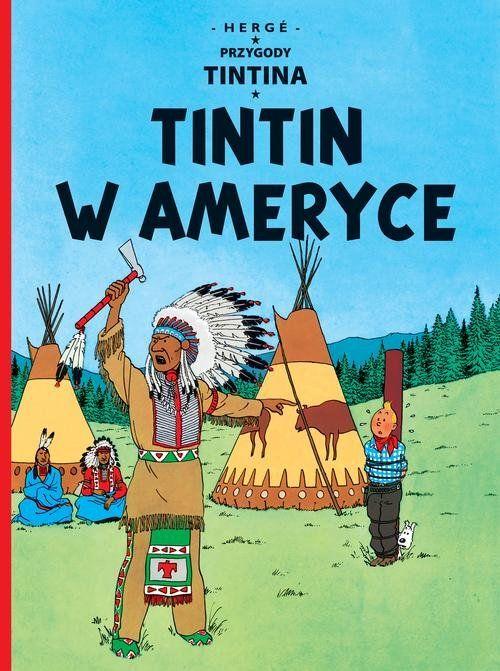 komiksy dla dzieci tintin