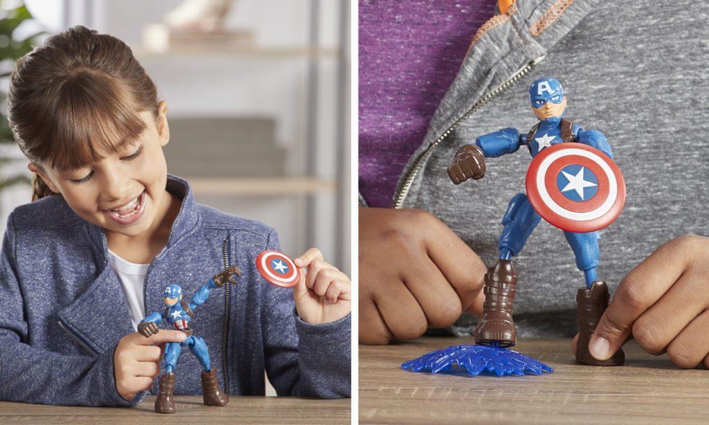 marvel figurki kapitan ameryka