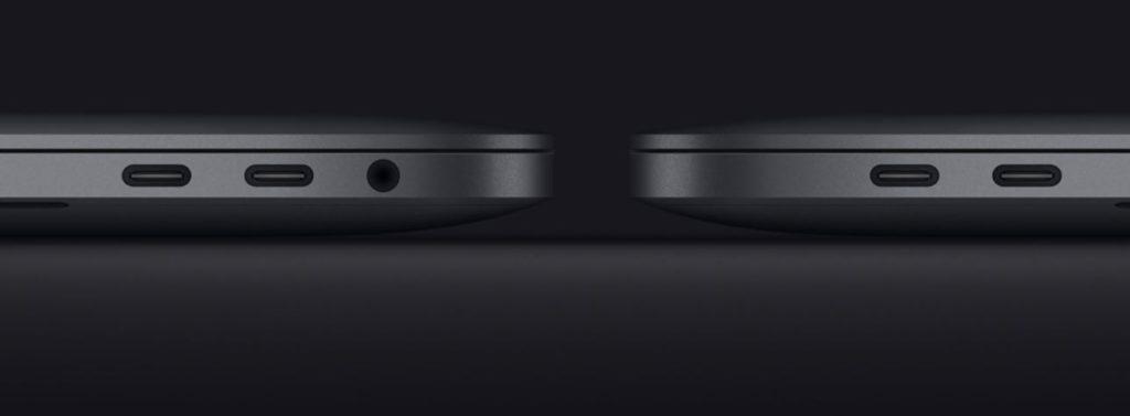złącza usb-c macbook pro 2020