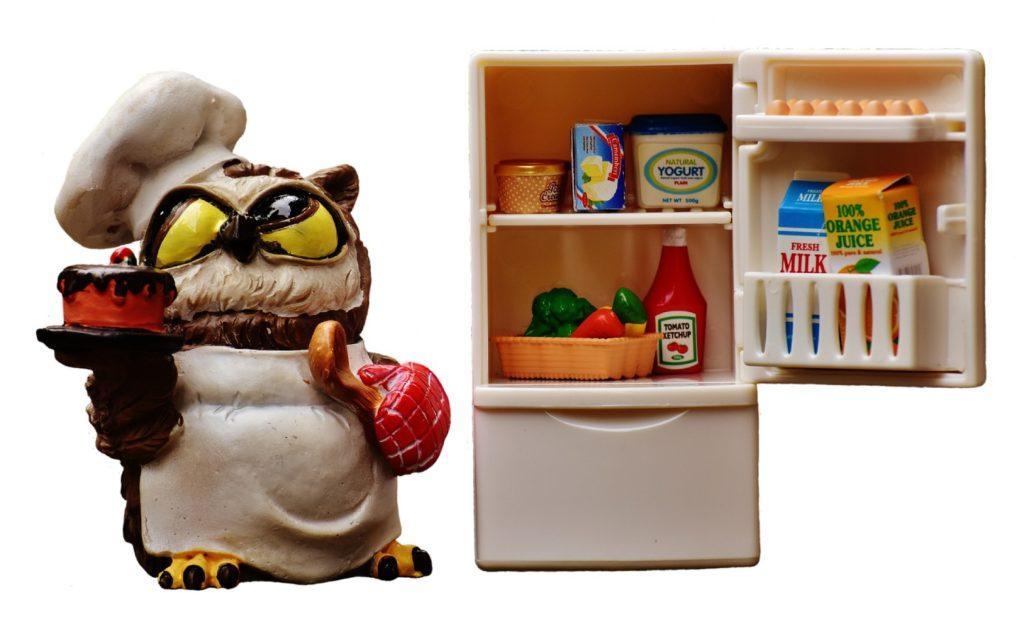 lodówka produkty spożywcze
