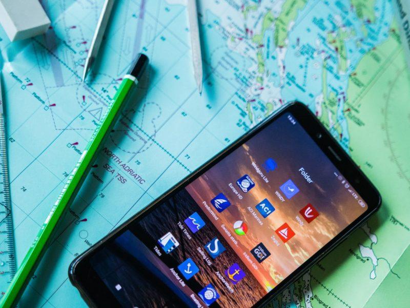 Smartfon okiem żeglarza