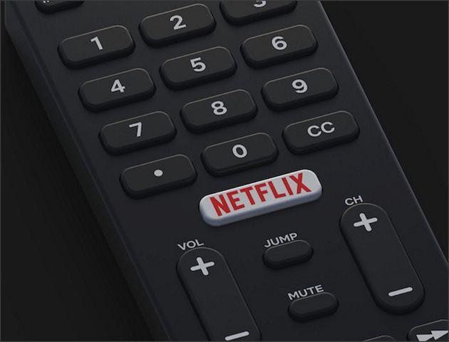przycisk netflix na pilocie do telewizora