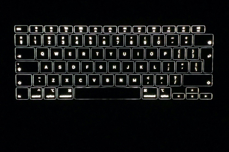 podświetlenie klawiatury apple