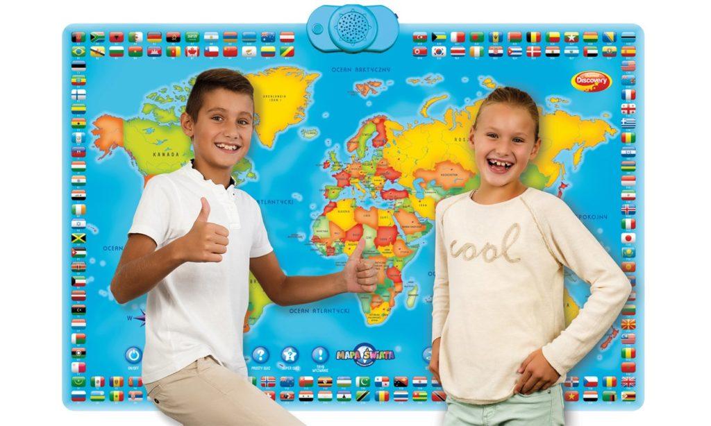 zabawki interaktywne mapa