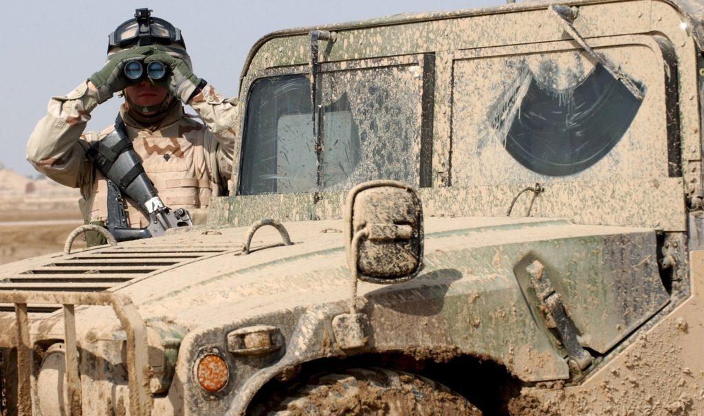 Żołnierz jeep