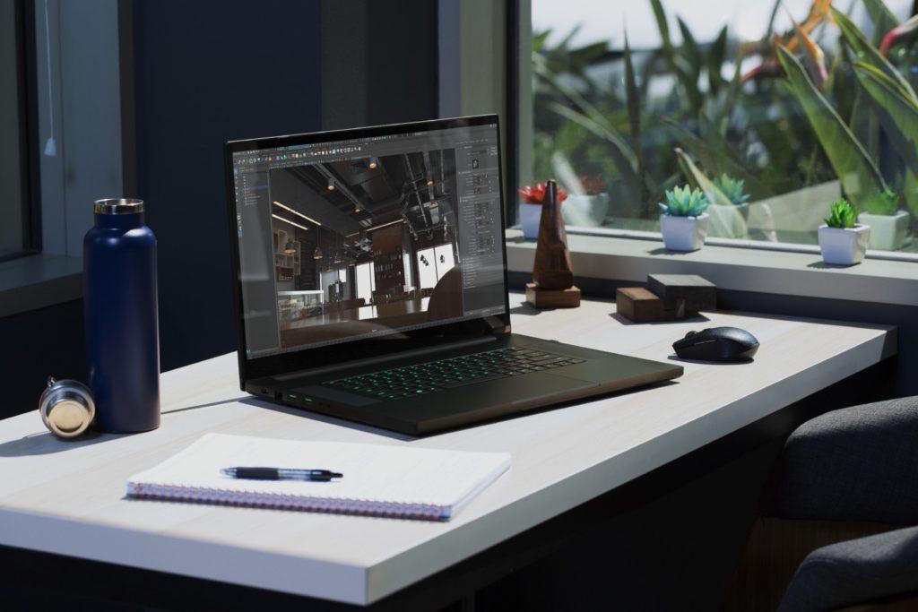 Razer Blade Pro 17 projektowanie