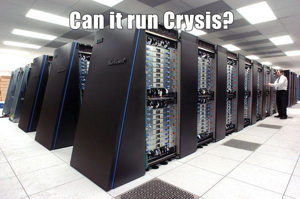 Can it run crysis meme