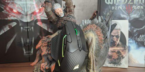 Recenzja myszy Corsair Dark Core RGB Pro SE – długa nazwa, rewelacyjny produkt i wysoka cena