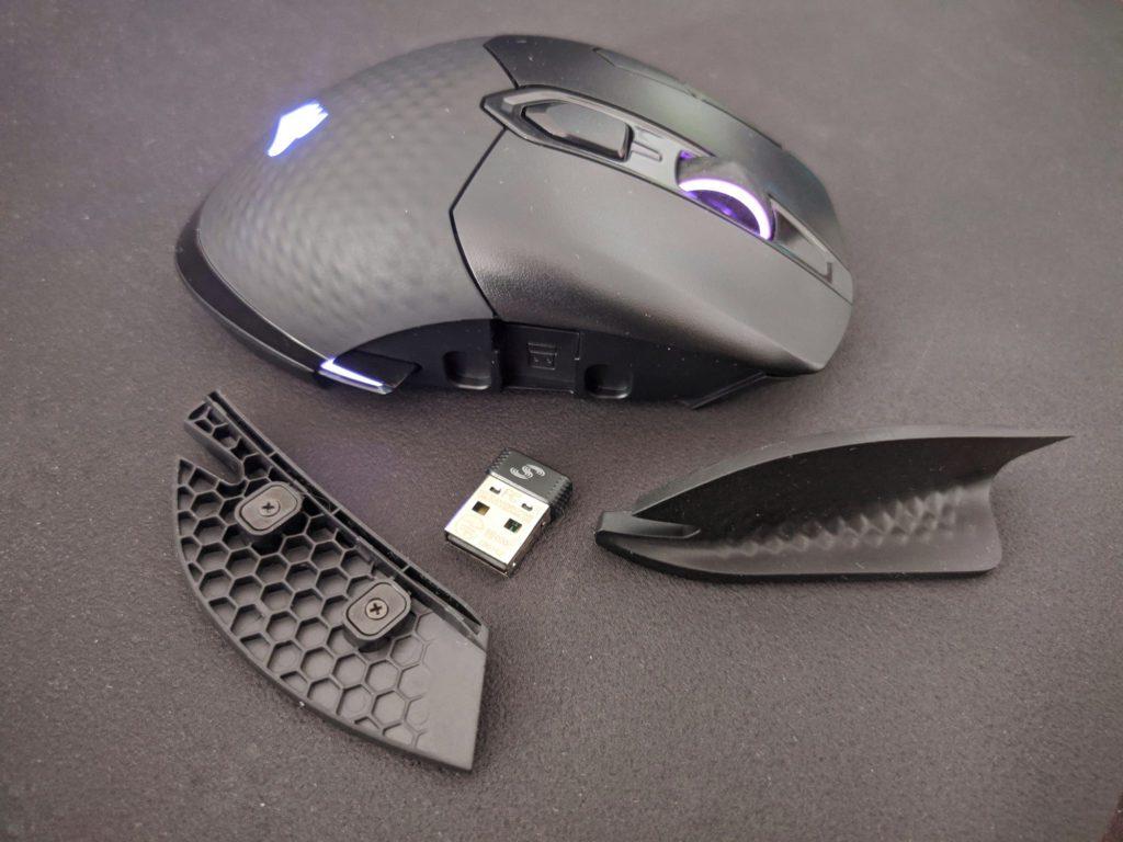 Corsair Dark Core RGB Pro SE prawy panel myszki