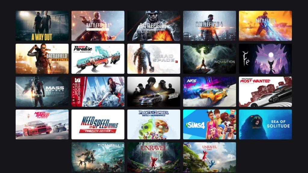 EA Play games steam w konkursie