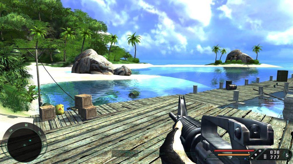 Sreenshot z gry Far Cry plaża