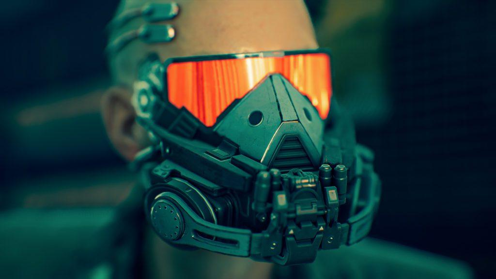 Ghostrunner Screenshot maska