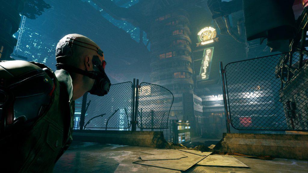 Ghostrunner screenshot przeciwnik
