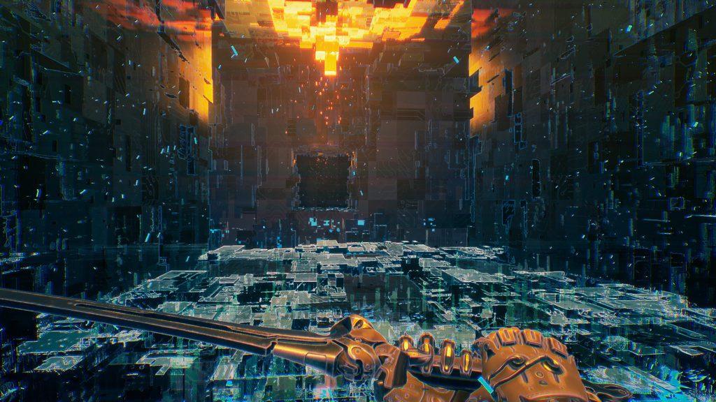 Ghostrunner screenshot Cybervoid