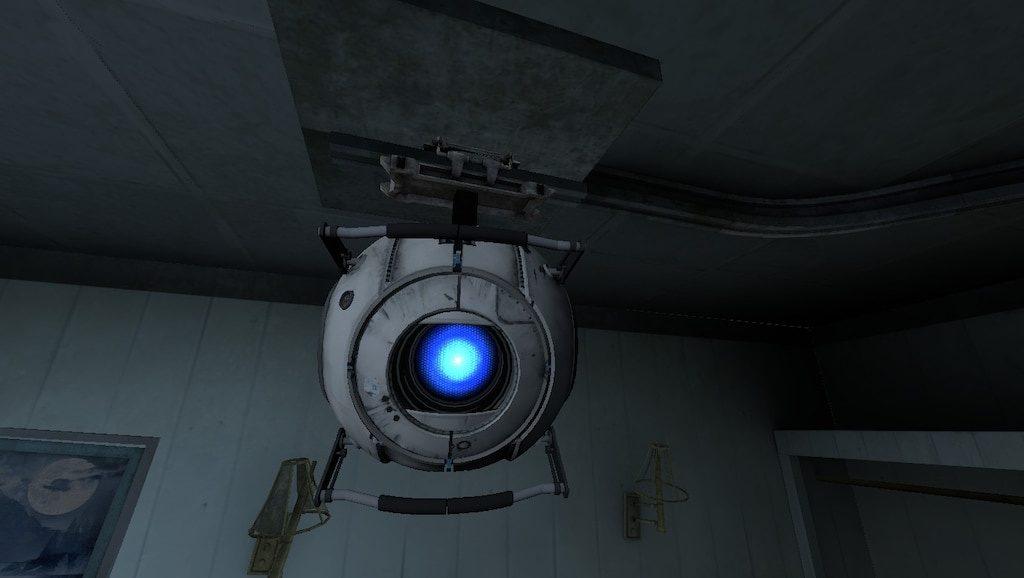 Portal 2 Wheatley postać z gry