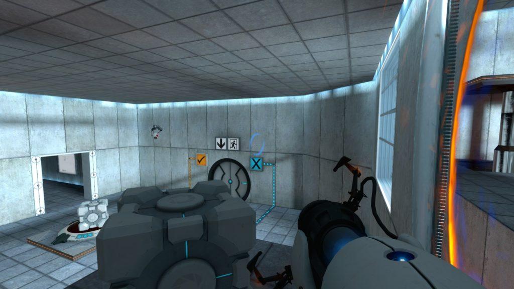 Portal Screenshot zagadka