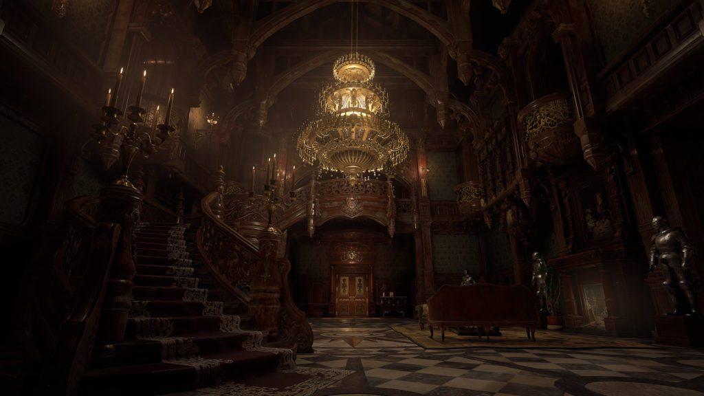 Resident Evil Village sala