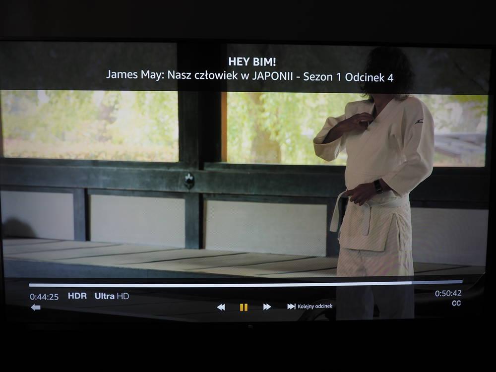 amazon prime na ekranie telewizora xiaomi