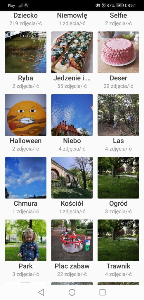 Aplikacja Momenty Synology