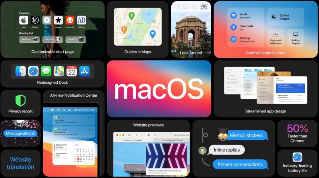 macOS na komputery Apple 2020