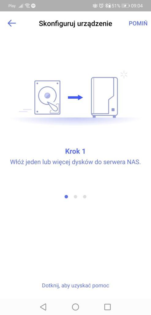 DS finder konfigurowanie