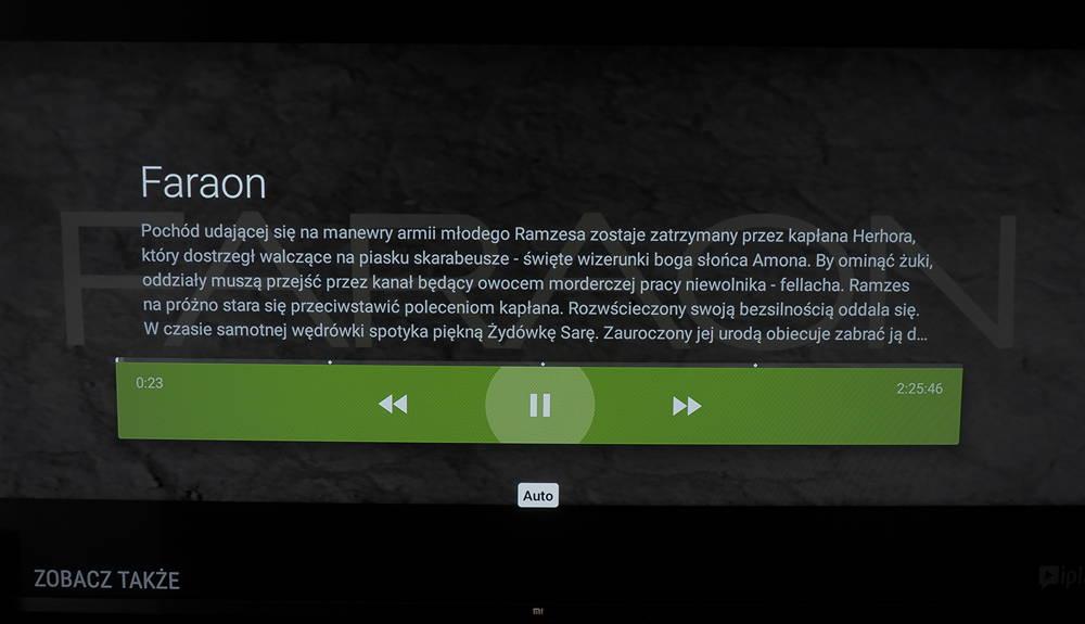działanie IPLI na telewizorze xiaomi
