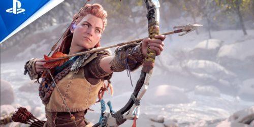 Horizon Forbidden West – oficjalny gameplay z wersji PS5 wygląda fenomenalnie