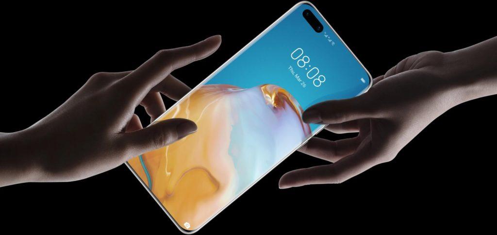 Ekran Huawei P40 Pro+