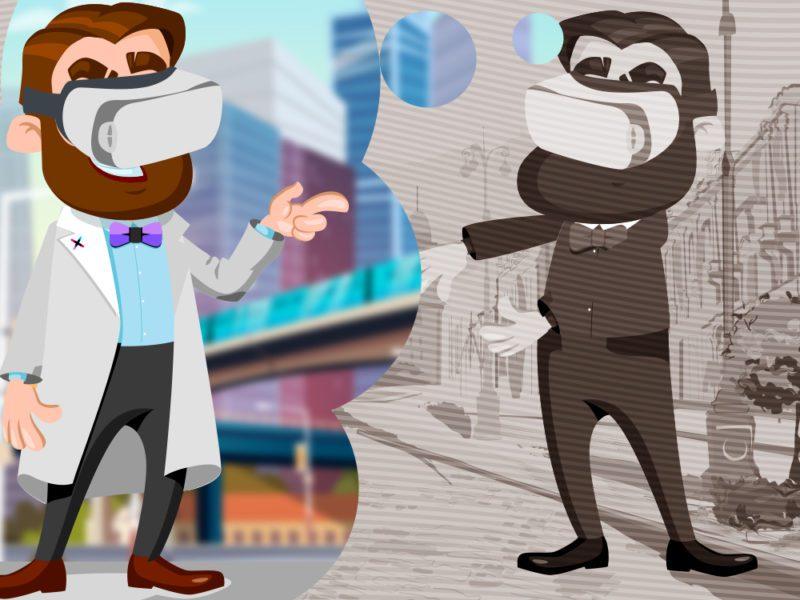 Luneta Futura. Okulary VR, czyli jak ludzie rzeczywistość przekraczać będą i światy wirtualne zwiedzać