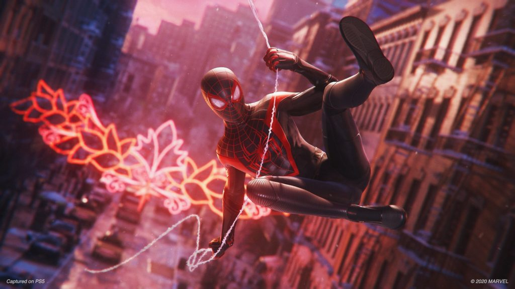 marvel spider-man miles morales gra ps5