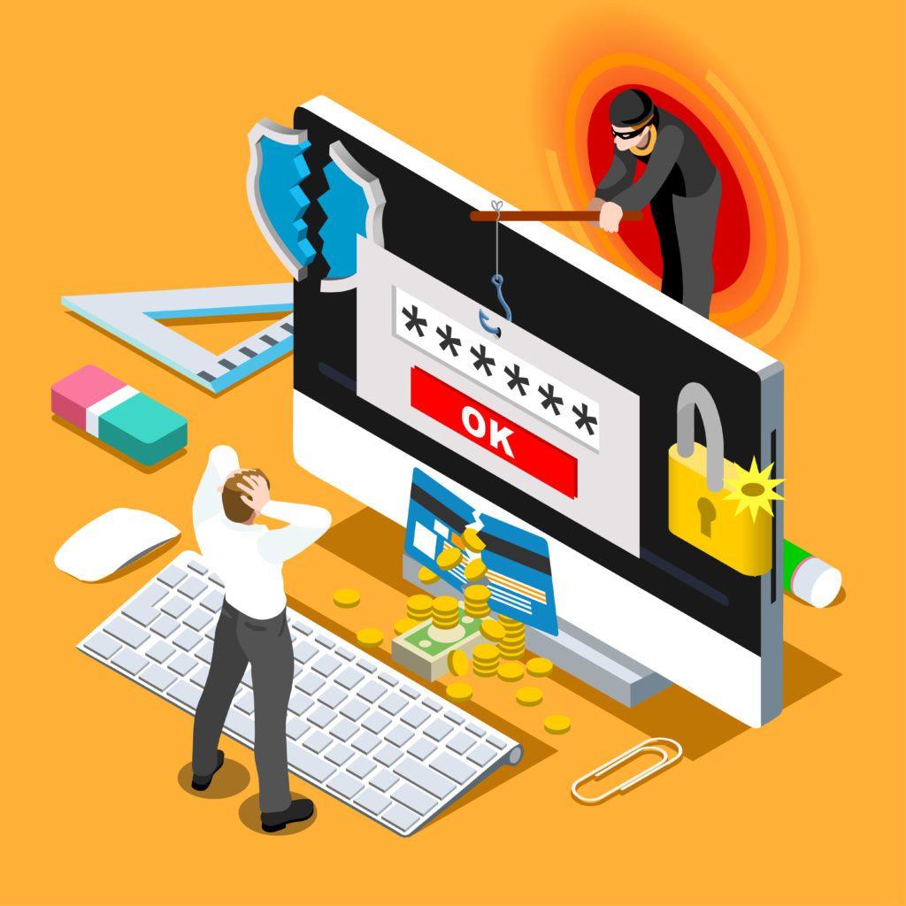 phishing wykradanie danych logowania