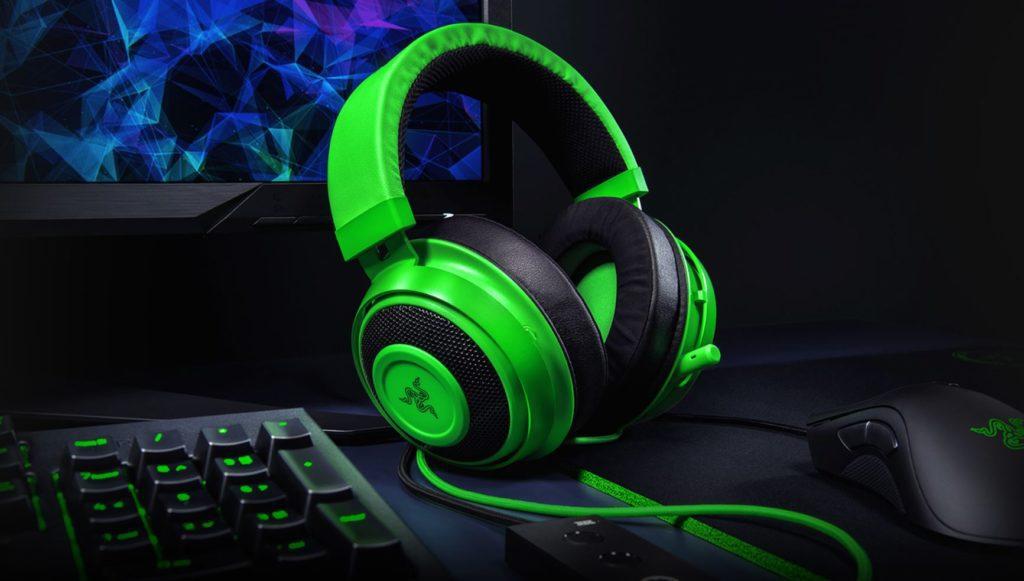Razer Kraken Tournament Edition Green słuchawki