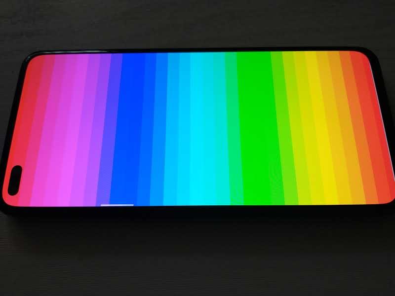 realme x50 pro ekran